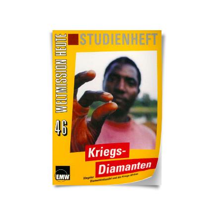 """Weltmission heute, Nr. 46: Studienheft """"Kriegsdiamanten"""""""