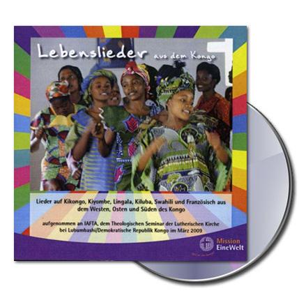 Lebenslieder aus dem Kongo - Musik-CD