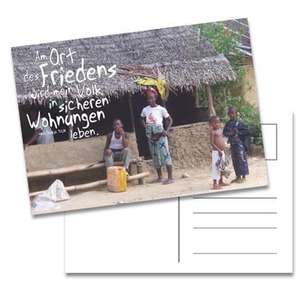 "Postkarte ""Ort des Friedens"""